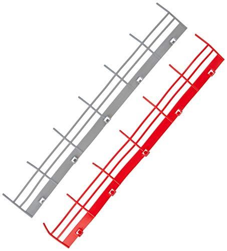 Carrera GO!!! Ausbauset 2 20061601 Erweiterungsartikel & GO 20061651 - Leitplanke Fahrzeugzubehör, 10 Stück