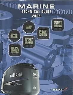 2006 YAMAHA OUTBOARD MARINE TECHNICAL SERVICE MANUAL GUIDE LIT-18865-01-06 (813)