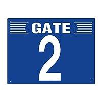 ユニット ゲート表示板 305-301 GATE 2 ヨコ