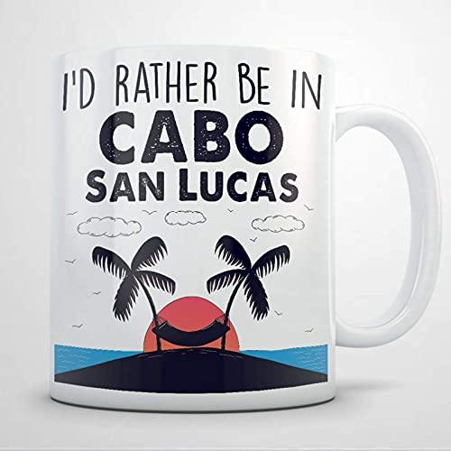Cabo San Lucias Souvenirs Regalo para mujeres y hombres Taza de café de 11 oz, Vacation i love Taza de té de cerámica personalizada Taza de bebida para Acción de Gracias, Navidad, Hogar y Oficina, Cum