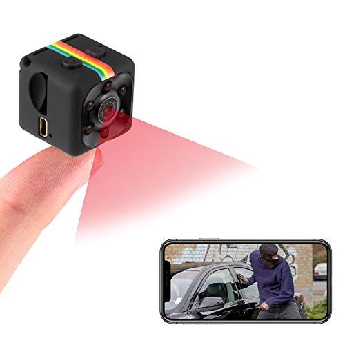 docooler Mini Camera 1080P Full HD Car DVR Telecamera nascosta DVR Registratore Videocamera DV Videocamera per visione notturna Videocamera portatile Sport auto