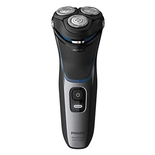 Philips Electric Shaver S3122/55, 5D Pivot & Flex Heads, 27 Comfort Cut Blades, Fast Charge, Up to 55 Min of Shaving
