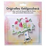 Geldgeschenk Blumenstrauß Geschenkkarte Geldgeschenkidee Geschenk zum Geburtstag Hochzeit oder andere Anlässe