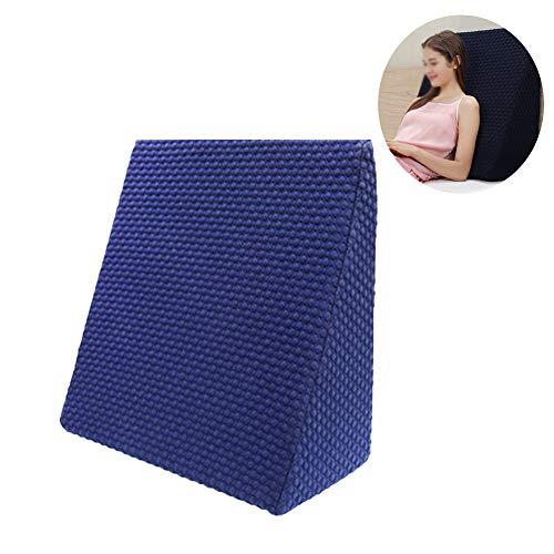NADAENW bed wig ondersteuning kussen rug been en knie prop up deal voor het lezen helpt met zuur Reflux gemaakt in schuim