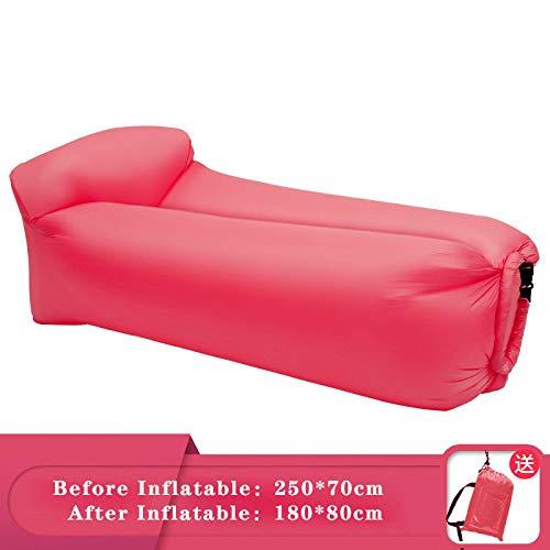 ZCXBHD Opblaasbare matras voor slaapbank, met luchtmatras, ideaal voor op zee op het strand, reizen, kamperen, wandelen, picknick en muziekfestivals