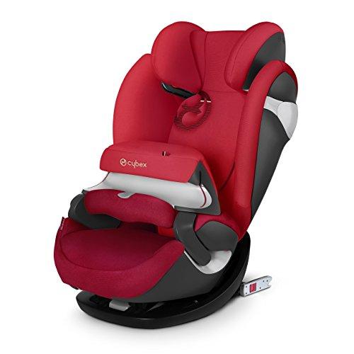 Cybex Seggiolino Auto 2 In 1 per Bambini Pallas M-Fix, per auto con e Senza Isofix, Gruppo 1/2/3 (9-36 kg), Collezione Colori 2017, Infra Red