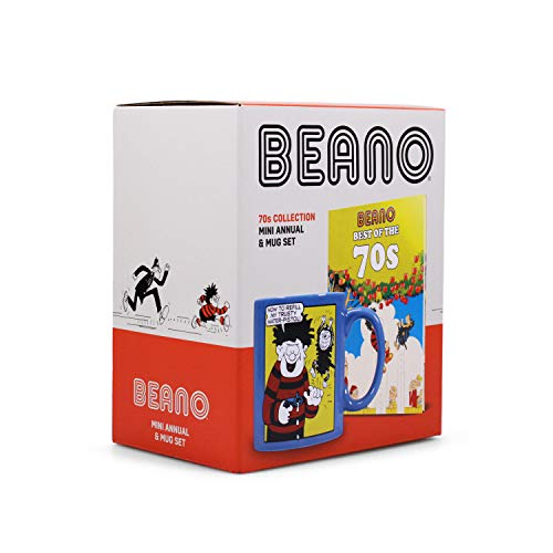 Official Beano Best of 70s Annual and Mug Gift Set
