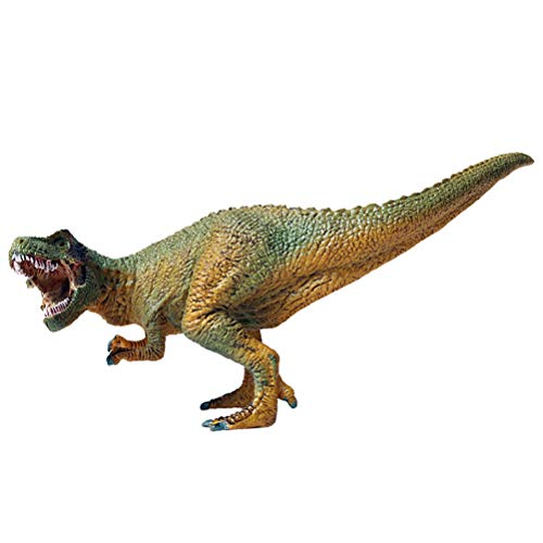 FLORMOON Juego de Dinosaurios - Realista Tyrannosaurus Rex Dinosaur- Figuras de Dinosaurio de plástico - Decoración de Pasteles de cumpleaños Juguete Escolar para niños