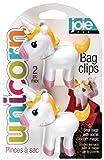 MSC International Joie Unicorn Bag Clips, Set of 2, One Size, White