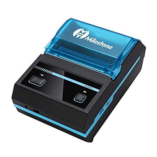 Mini Receipt Printer Bluetooth, Rechargeable Thermal Printer Bluetooth...