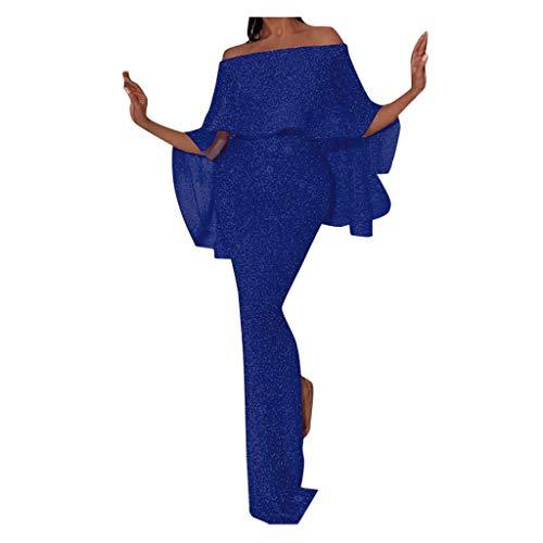 Auifor vrouwen aantrekkelijk een schouder, figuurbenadrukte jurk dunne elegante dames partyjurk
