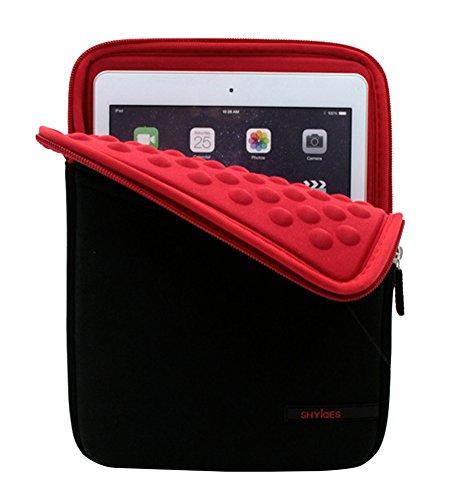 Sleeve Impermeabile Custodia Bubble Interno resistente agli urti per Amazon Fire HD 8/Samsung Galaxy Tab A SM-T350/Apple iPad Mini 4/Samsung/Galaxy Tab S2/ASUS Z380M-A2-GR Zenpad 8/Lenovo Tab 4 Rosso