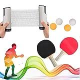 Red de Tenis de Mesa Profesional Ping Pong Set Portátil Ping Pong Table Net Reemplazo retráctil Ping Pong Accesorio para Dinging Table School Home Office Office Desk