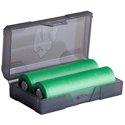 18650 VTC6 2er Pack High Drain Akku - 3,7V / 15/30A / 3120mAh - Akkus speziell für e Zigarette/E Shisha mit Schutzschaltung