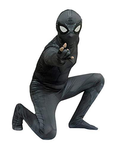 CXYGZLJ Avengers 4 Stealth Traje Body, Nio Adulto Halloween Cosplay Costume Spider Mights Traje de Batalla 3D Lense Lens Gafas, Adult 155~163cm