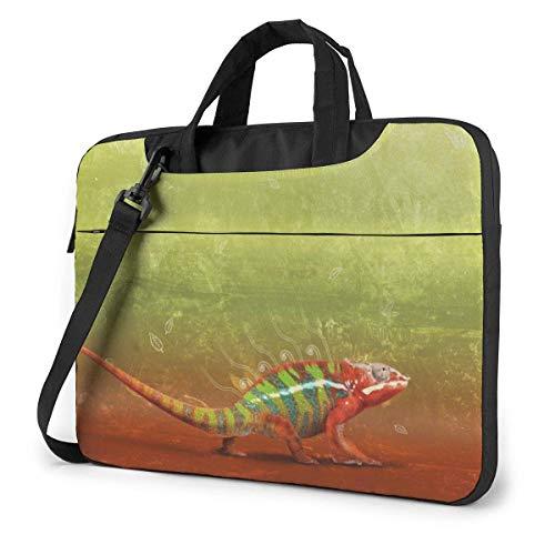Laptop Shoulder Bag, Lizard Briefcase Protective Bag