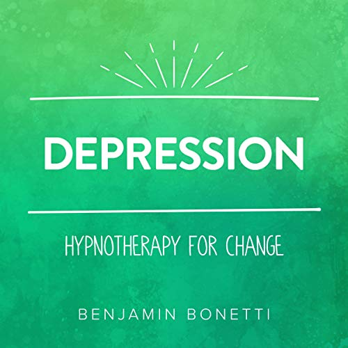 Depression - Hypnotherapy For Change audiobook cover art