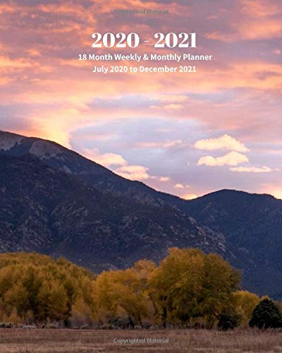 Compare Textbook Prices for 2020 - 2021   18 Month Weekly & Monthly Planner July 2020 to December 2021: Taos Pueblo New Mexico Travel Vacation Monthly Calendar with U.S./UK/ ... 8 x 10 in.- Office Equipment & Supplies  ISBN 9798620697298 by Book Press, Dazzle