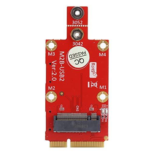 Convertidor de Adaptador M.2 a Mini PCI-E, Ranura para Tarjeta SIM Nano Dual con Kit de Destornillador M2, para Mini PCI Express