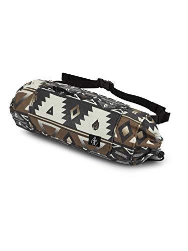 Volcom Vlcm x Girl Skateboards - Mini borsa in pile da uomo, taglia unica, colore: Sanddune