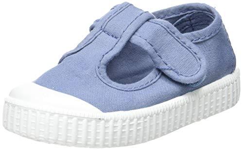 Victoria 1915 Sandalia Lona Tintada Velcro, Zapatillas Unisex bebé, Azul (Azul 36), 21 EU