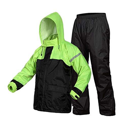 Chubasquero impermeable Rain Gear Chubasquero impermeable + Pantalones Impermeables Vehículos eléctricos Tipo...