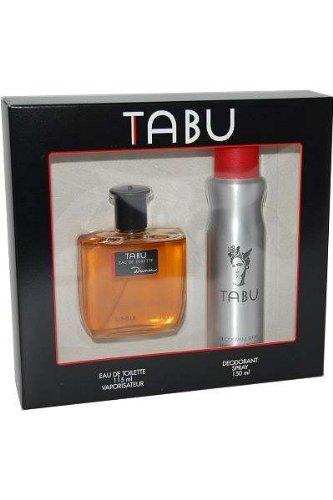 Tabu - Set con Agua de Tocador 115 ml + Desodorante 150 ml para Hombre
