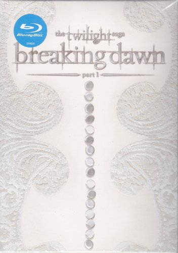 Twilight Breaking Dawn Part 1 Blu-ray with EXCLUSIVE Wedding Photo Fabric Poster and music videos! (2011)