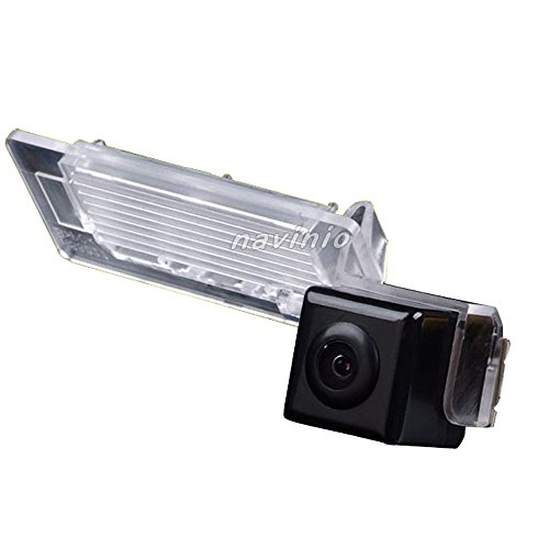 Caméra de recul 170 ° angle étanche Vision nocturne vue arrière Caméra aide au stationnement Système de recul voiture Noir Pour Audi A1 A4 Allroad Coupe TT Coupe Roadster Q5 RS S5 A5 Cabriolet