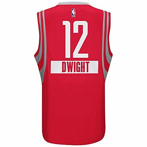 adidas Dwight Howard Houston Rockets NBA Uomo Red 2014Christmas Day Swingman Climacool Maglia, Uomo, Red