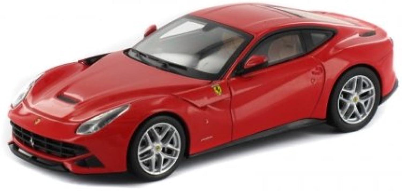 Hotwheels Elite 1 43 New Ferrari F12 Berlinetta Die Cast Model (Red)