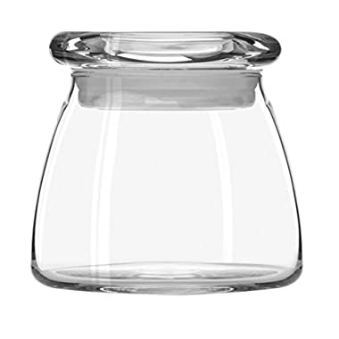 Libbey 12-1/2-Ounce Vibe Storage Jars, Set of 6