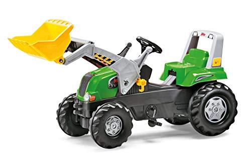 Rolly Toys Traktor / rollyJunior RT Trettraktor (inkl. rollyJunior Lader, verstellbarem Sitz, Flüsterlaufreifen, für Kinder von 3 – 8 Jahre) 811465