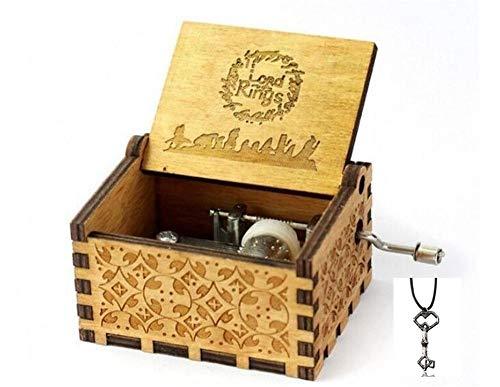 aaerp Metal Mini Caja de m/úsica Bricolaje mec/ánico manivela artesan/ía Caja de m/úsica Movimiento decoraci/ón