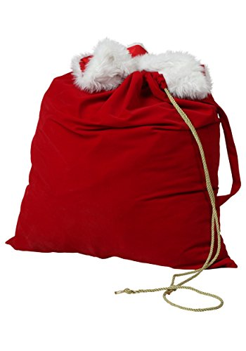 Fun Costumes Deluxe Santa Sack Standard Red