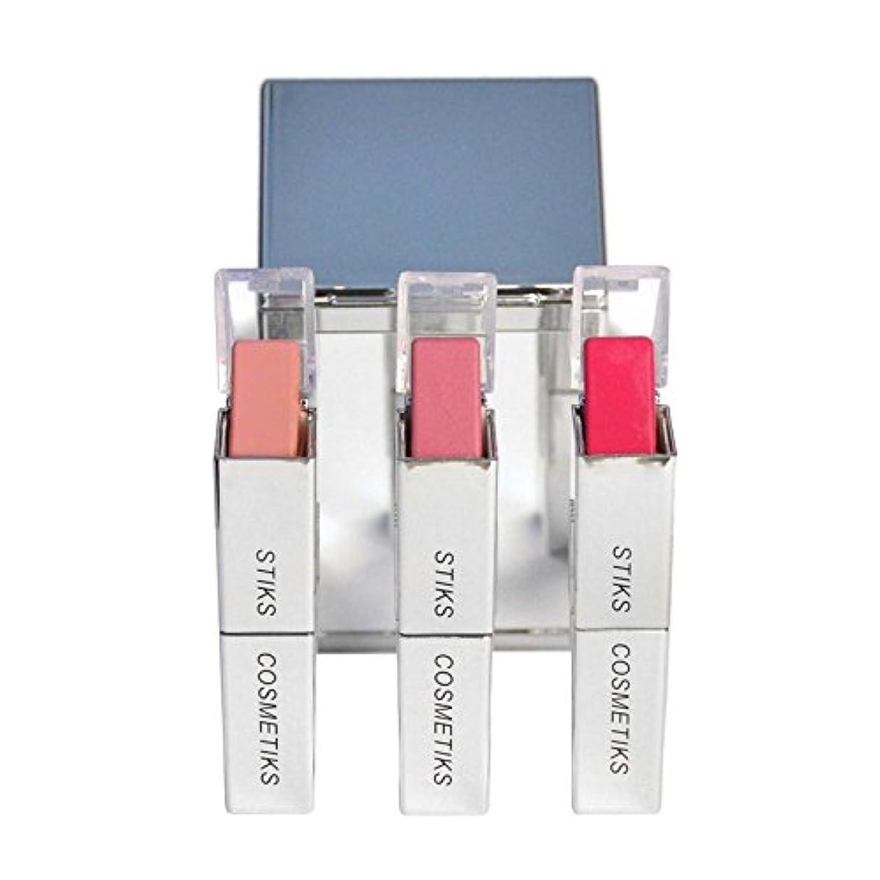 接地観点はぁコレクション - ピンクを考えます x2 - STIKS Cosmetiks Collection - Think Pink (Pack of 2) [並行輸入品]