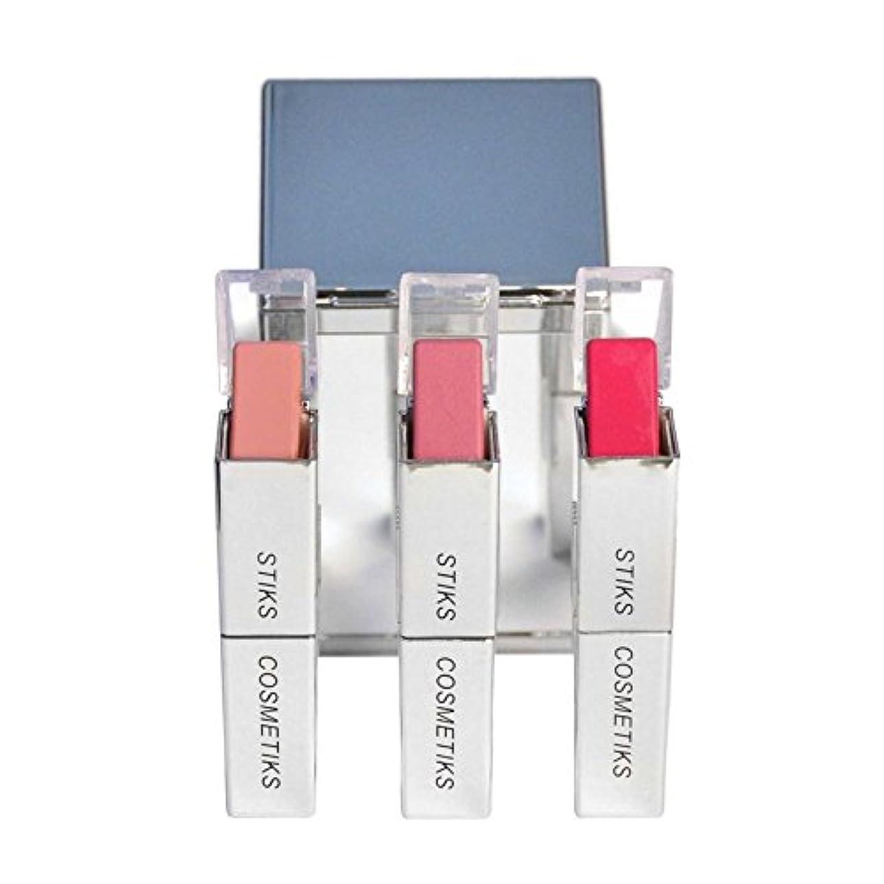 電気の貨物一コレクション - ピンクを考えます x2 - STIKS Cosmetiks Collection - Think Pink (Pack of 2) [並行輸入品]