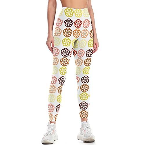QTJY Pantalones de Yoga Delgados de Color para Mujer Pantalones de Yoga de Cintura Alta Suaves y de Moda Pantalones de Entrenamiento de Gimnasio Celulitis Pantalones para Correr C XL