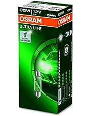 OSRAM 6418ULT ULTRA LIFE, C5W, bijzonder duurzaam, halogeen signaallampen, kartonnen vouwdoos (10 lampen), 12 x 11 x 11 mm