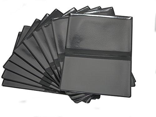 Ausweishülle/Kfz-Scheinhülle Schwarz 10 Stück