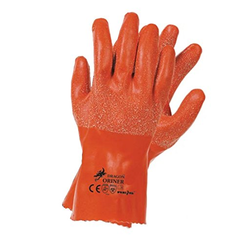 Dragon Gummihandschuh Oriner, Größe 10 Arbeitshandschuhe Schutzhandschuhe Sicherheitshandschuhe Handschuhe