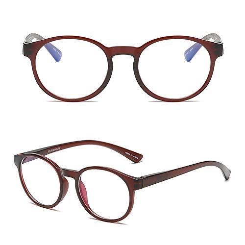Globqi veiligheidsbril, blauw licht, lichte lenzen, framefilter, computerbril met opbergdoos voor werkzaamheden binnenshuis, sport in de open lucht