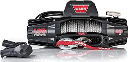 Warn VR EVO 12-S, 12,000 lbs Winch with Synthetic Rope & Wireless Remote, 12V, 103255