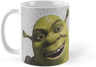 Shopsmeade Shrek Movie Script Mug with Electronic Education Record ® Gift Card   Collector Edition Mug   Gifts for Boyfrie...