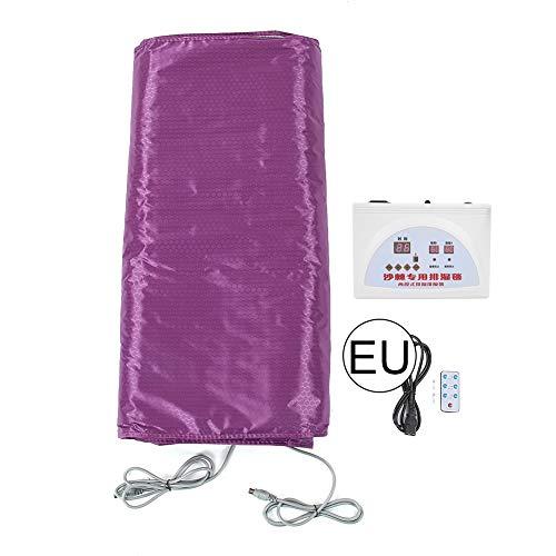 Coperta portatile a infrarossi per spa, disintossicazione a infrarossi lontani sauna riscaldata sauna coperta a vapore corpo dimagrante fitness macchina antinvecchiamento per alleviare(Unione Europea)