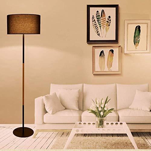 CLJ-LJ Lámparas de pie, Led luces de noche dormitorio simple moderna habitación Lámpara de piso, sala de estar Lámpara de piso, iluminación creativa Eye-El cuidado vertical de luz baja