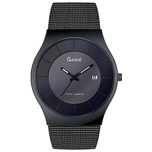 Uhr - Elegance 82312 - Quarz Edelstahl - schwarz