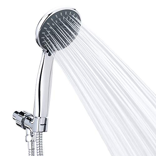 Handheld Shower Head High Pressure 5 Spray Settings Massage Spa Detachable Hand Held Showerhead...