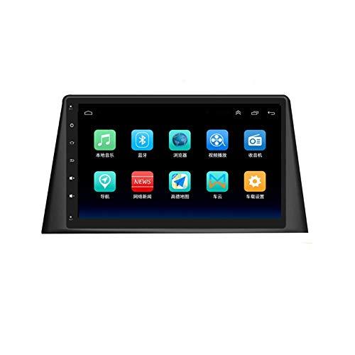 Estéreo para automóvil de 9 pulgadas en el tablero Reproductor estéreo de Android 8.1 para radio de automóvil para Peugeot 308 (2016-2018), Pantalla táctil capacitiva GPS, Wifi, Bluetooth, Enlace esp