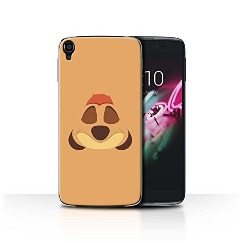 Stuff4 Phone Case/Cover/Skin/alc-cc/Cartoon African Animals Collection Timone Inspiré Alcatel Idol OneTouch 3 5.5
